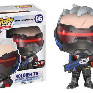 Funko POP. Overwatch Soldier 76 / Фанко Поп - Овервотч фигурка Солдат 76